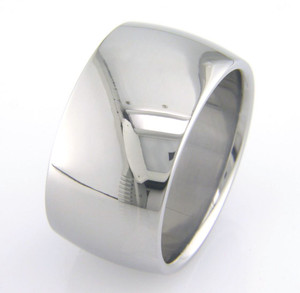 Wide Titanium Ring