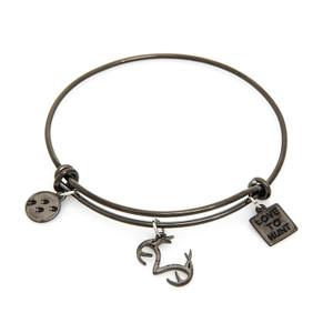 Women's Black Wire Realtree Love to Hunt Bracelet