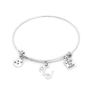 Women's Silver Wire Realtree Love to Hunt Bracelet