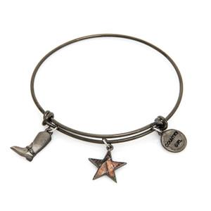 Women's Black Wire Realtree Country Girl Charm Bracelet