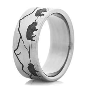 Men's Buffalo Scene Ring