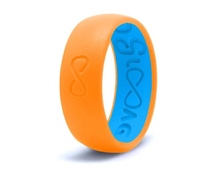 Silicone Breathable Ring- Blaze Orange
