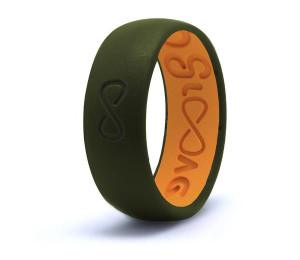 Silicone Breathable Ring- Moss Green