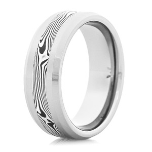 Men's Tungsten Shakudo Ring