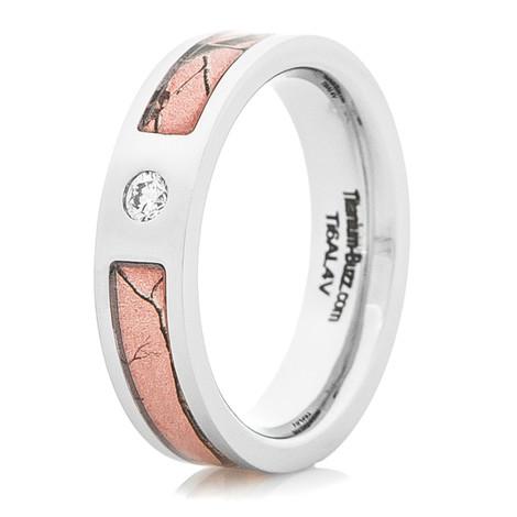 Pink Realtree Diamond Ring