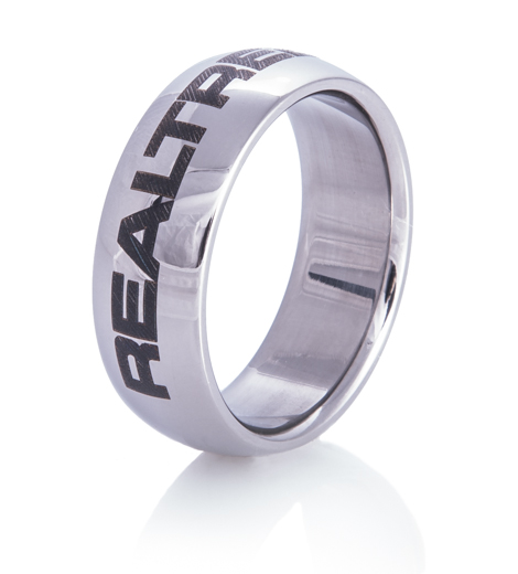 Titanium Realtree Ring