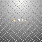 8x8 Printed Tension fabric backdrop (Diamond Plate)