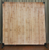 8x8 Printed Tension fabric backdrop (Light wood)