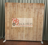 8X8 Single Sided Custom backdrop (Light Wood)