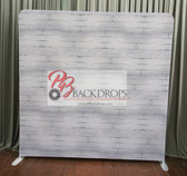 8X8 Single Sided Custom backdrop (White Wash Wood)