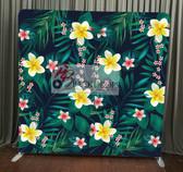 8X8 Single Sided Custom backdrop (Aloha Floral)