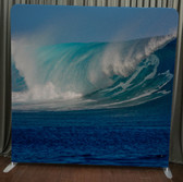 8X8 Single Sided Custom backdrop (Siik Wave)