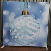 8X8 Single Sided Custom backdrop (Christmas Ornament)