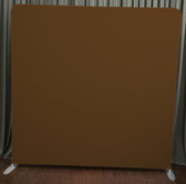 8X8 Single Sided Custom backdrop (brown)