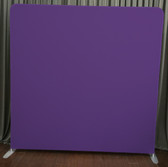 8X8 Single Sided Custom backdrop (Purple)
