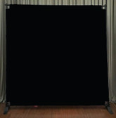 8x8 Printed Tension fabric backdrop (Black)