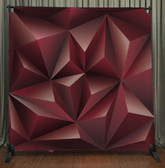 8x8 Printed Tension fabric backdrop (Geometric)