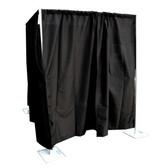 6'-10' x 10' Adjustable Upright Full Enclosure Setup w/Drapes