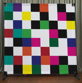 8x8 Printed Tension fabric backdrop (Colorful Checkers)