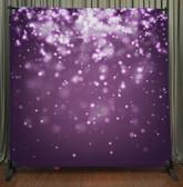 8x8 Printed Tension fabric backdrop (Purple Bokeh)