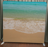 8X8 Single Sided Custom backdrop (Beach Time)