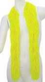 PB Faux Fur Festival Boa (Hot Yellow)