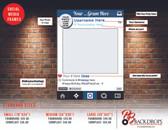 Custom Social Media Frames