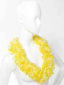 Tiki Luau Boa Lei - Luau Yellow