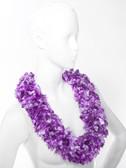 Tiki Luau Boa Lei - Luau Purple