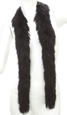 PB XL Faux Fur Festival Boa (Black)