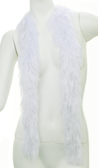 PB XL Faux Fur Festival Boa (Ice White)