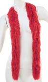 PB XL Faux Fur Festival Boa (Red)