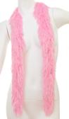 Faux Fur Festival Boa (Soft Pink)