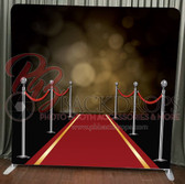 Single Sided Pillow Cover Backdrop  (Red Carpet)