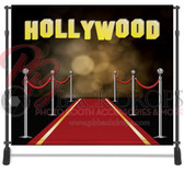 8x8 Printed Tension fabric backdrop (Red Carpet Hollywood)