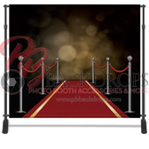 8x8 Printed Tension fabric backdrop (Red Carpet)
