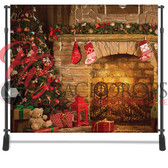 8x8 Printed Tension fabric backdrop (Christmas Tree Glow)