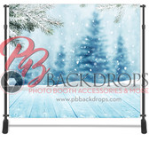 8x8 Printed Tension fabric backdrop (Falling Snow)