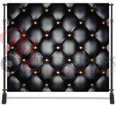 8x8 Printed Tension fabric backdrop Bundle #1 (2 Backdrops with up to 4 pole pockets)