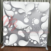 Single Sided Pillow Cover Backdrop  (3d Paper)
