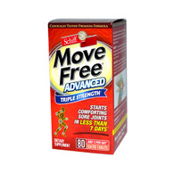 Schiff Move Free Advanced Triple Strength (80 Coated Tablets)