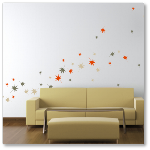 autumn leaves - gone with the wind wall decal