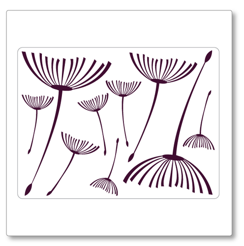 Flying Dandelions wall decal (Small)