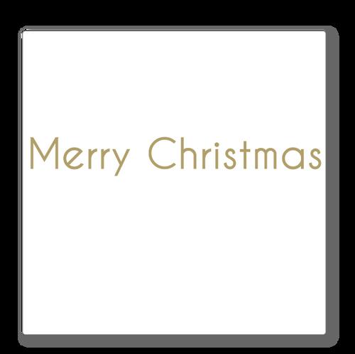 Merry Christmas Shop Window sign - Modern