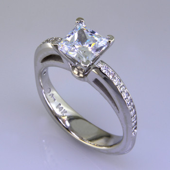 white gold diamond engagement ring plymouth mn