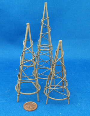 Garden Obelisks - Set of 3