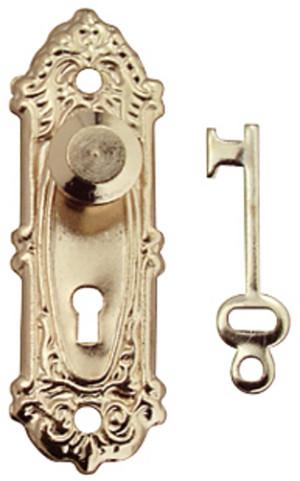 Fancy Door Knobs - Set of 2 with keys