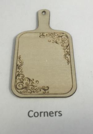 Custom Design 1/12 Scale Cutting Board