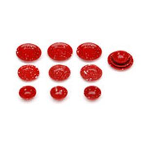Red Splatterware Dish Set