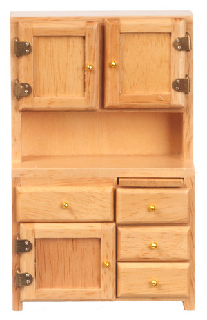 Kitchen Hutch - Oak